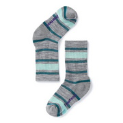Kids' Striped Hike Light Crew Socks
