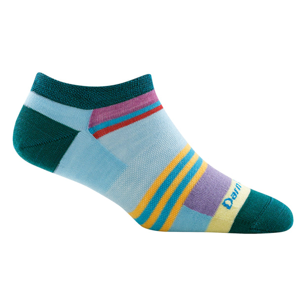 Women's Modern Stripe No Show Light