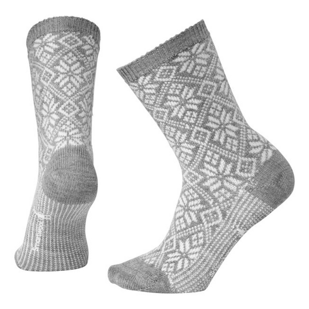 Traditional Snowflake Socks