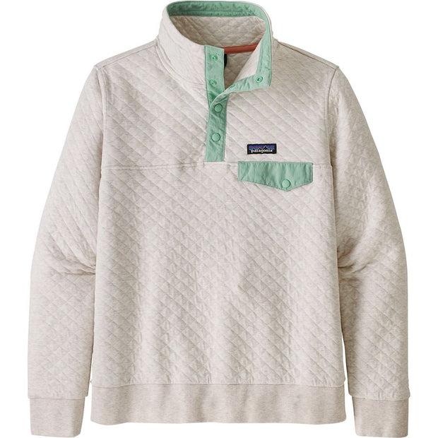 Organic Cotton Quilt Snap-T Pullover