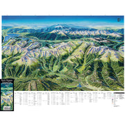Rocky Mountain National Park Panoramic Map