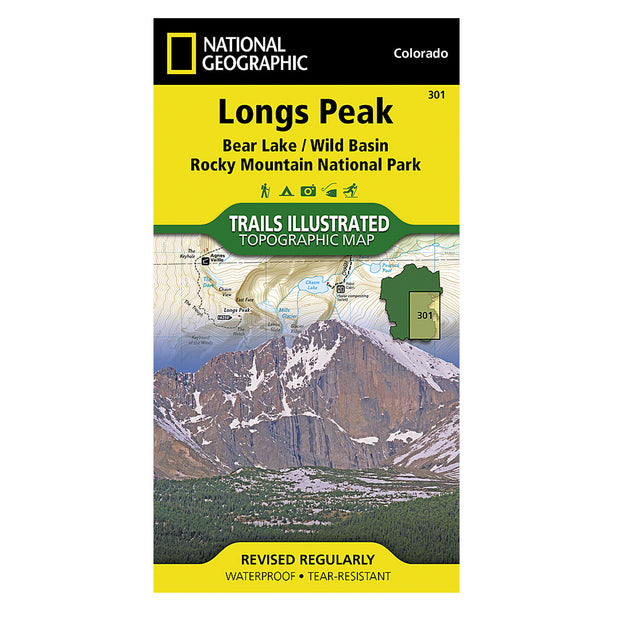 Longs Peak: Rocky Mountain National Park (Bear Lake, Wild Basin)