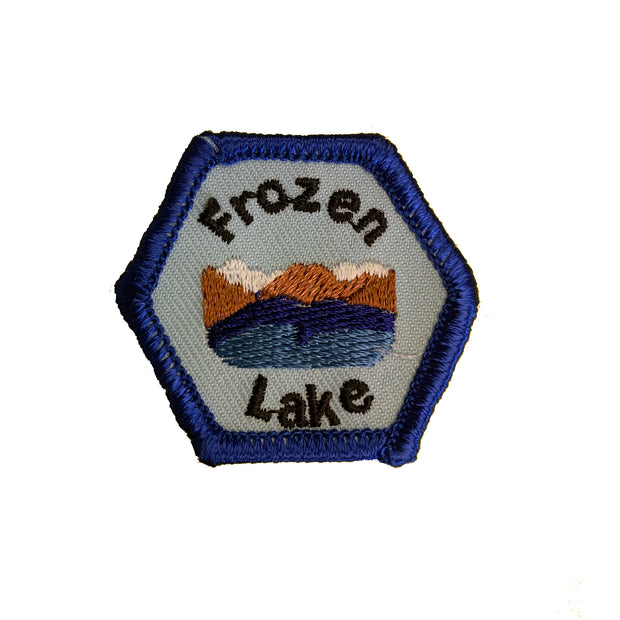 Frozen Lake Trail Tag