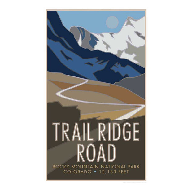Trail Ridge Road Poster