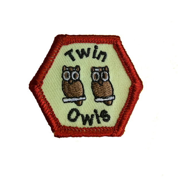 Twin Owls Trail Tag