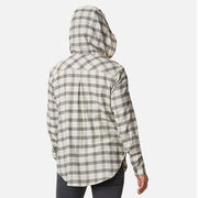 Anytime Stretch Hooded Long Sleeve Shirt