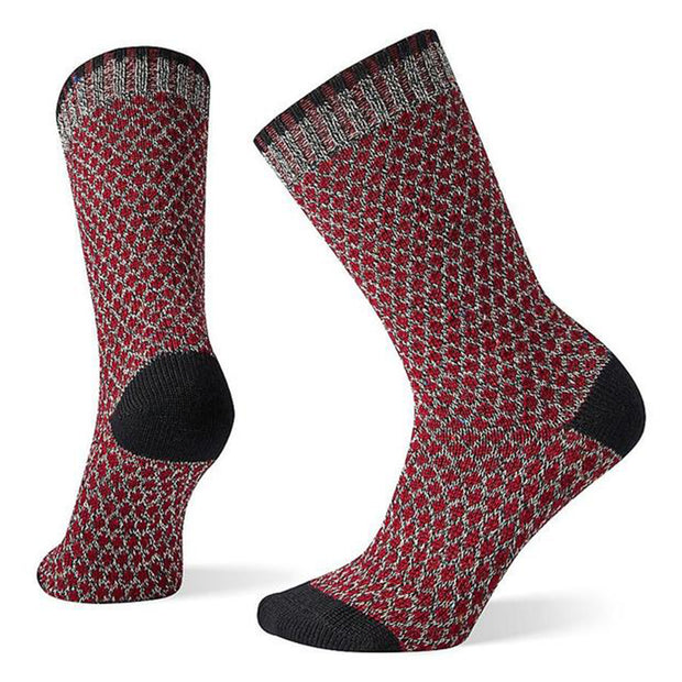 Women's Popcorn Polka Dot Crew Socks
