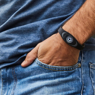 Ion Core Bracelet Out Of Stock Black with Blue Black & Blue Ion Core Bracelet