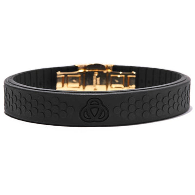 Magnacore Power Band Stealth Black With Gold Clasp Black & Gold Magnacore 2.0 (Ltd Edition)
