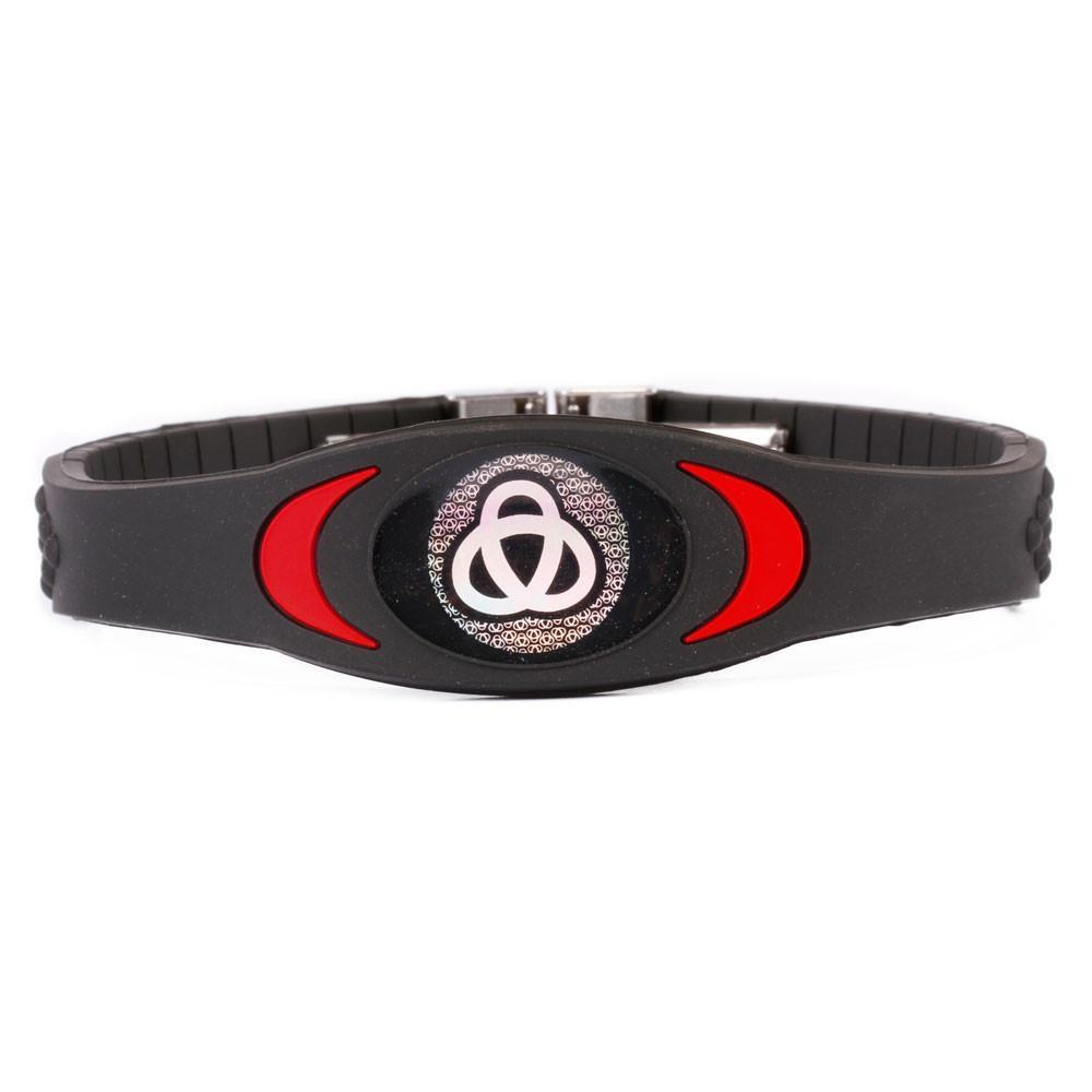 Ion Core Bracelet Black with Red Black & Red Ion Core Bracelet