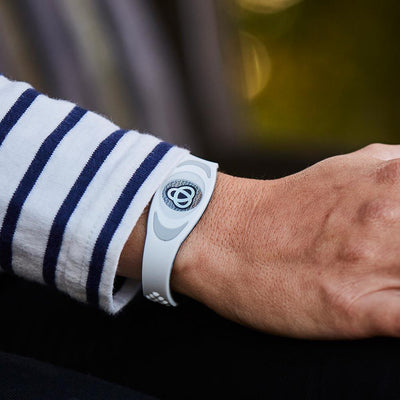 Ion Core Bracelet Out Of Stock Blue with White Blue Ion Core Bracelet