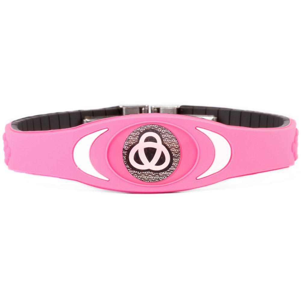 Ion Core Bracelet Pink with White Pink Ion Core Bracelet