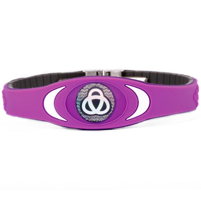Ion Core Bracelet Purple with White Purple Ion Core Bracelet