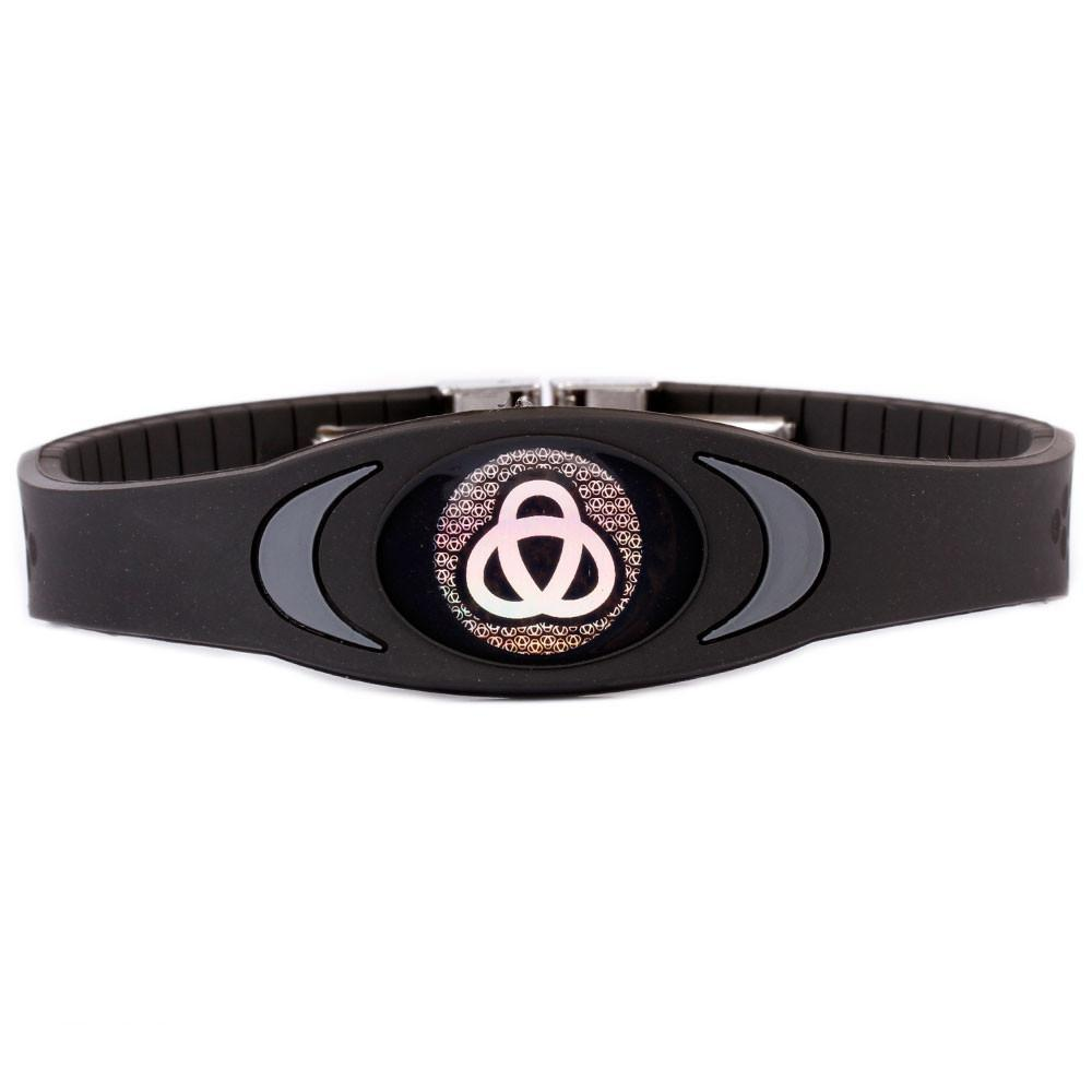 Ion Core Bracelet Black with Dark Grey Stealth Black Ion Core Bracelet