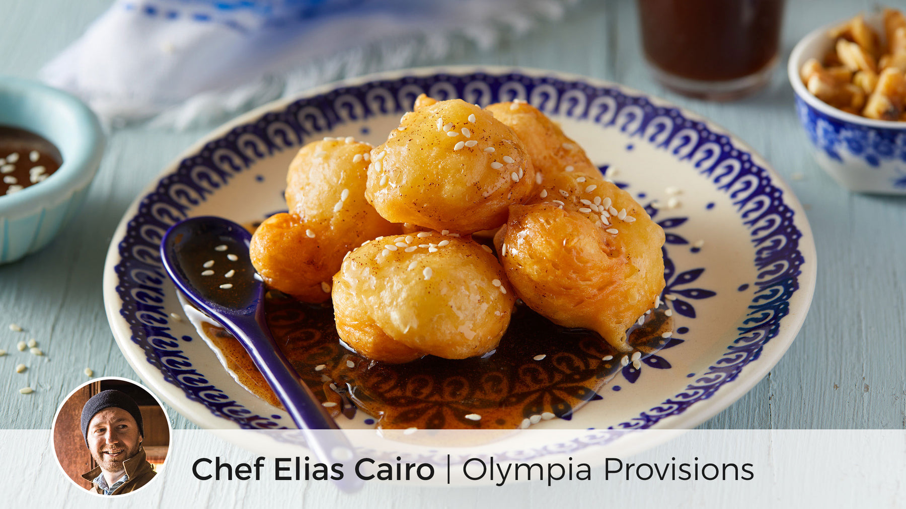 Loukoumades (Greek Honey Fritters)
