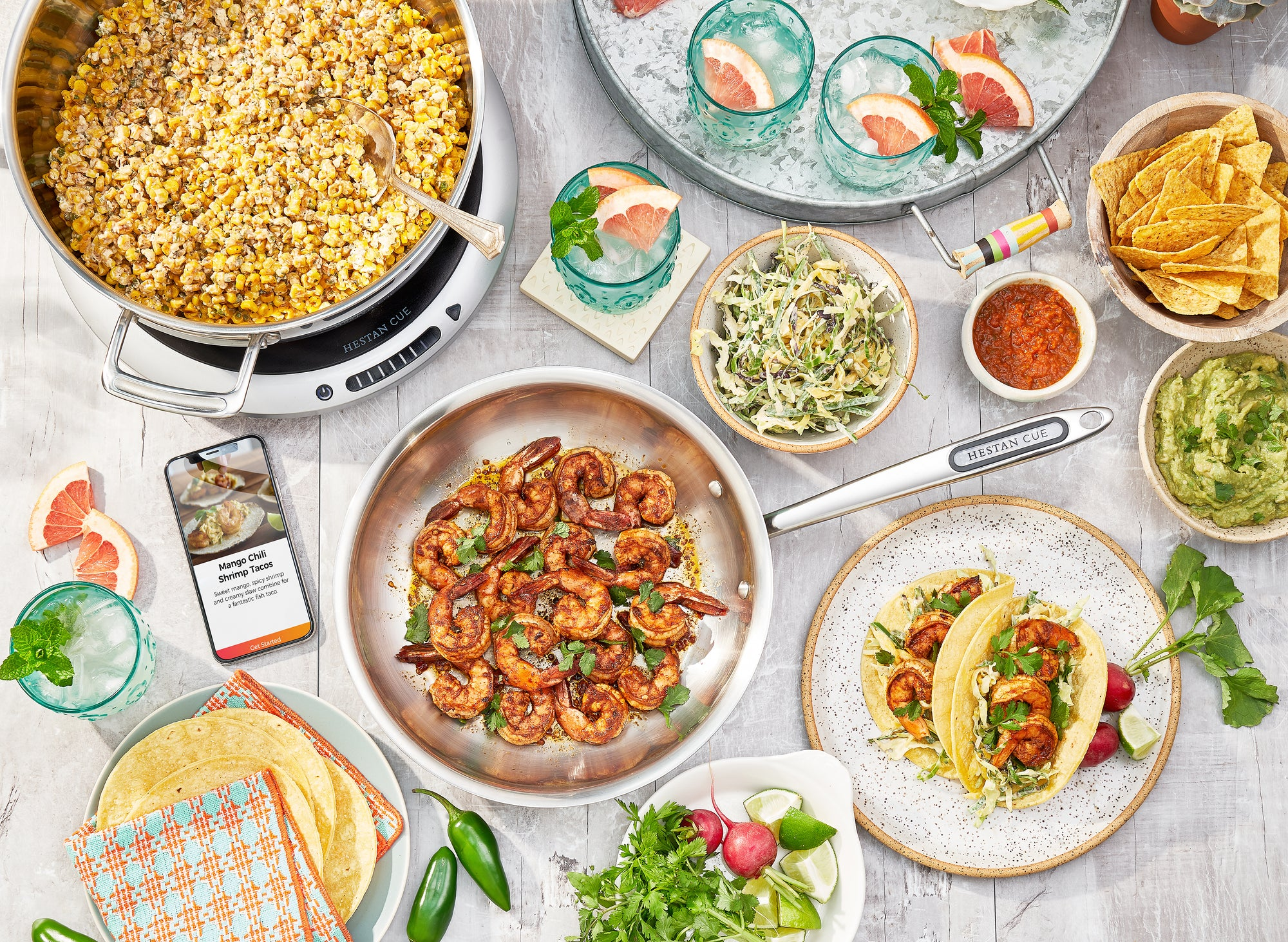 A Taco Party That Gets Everyone Cooking