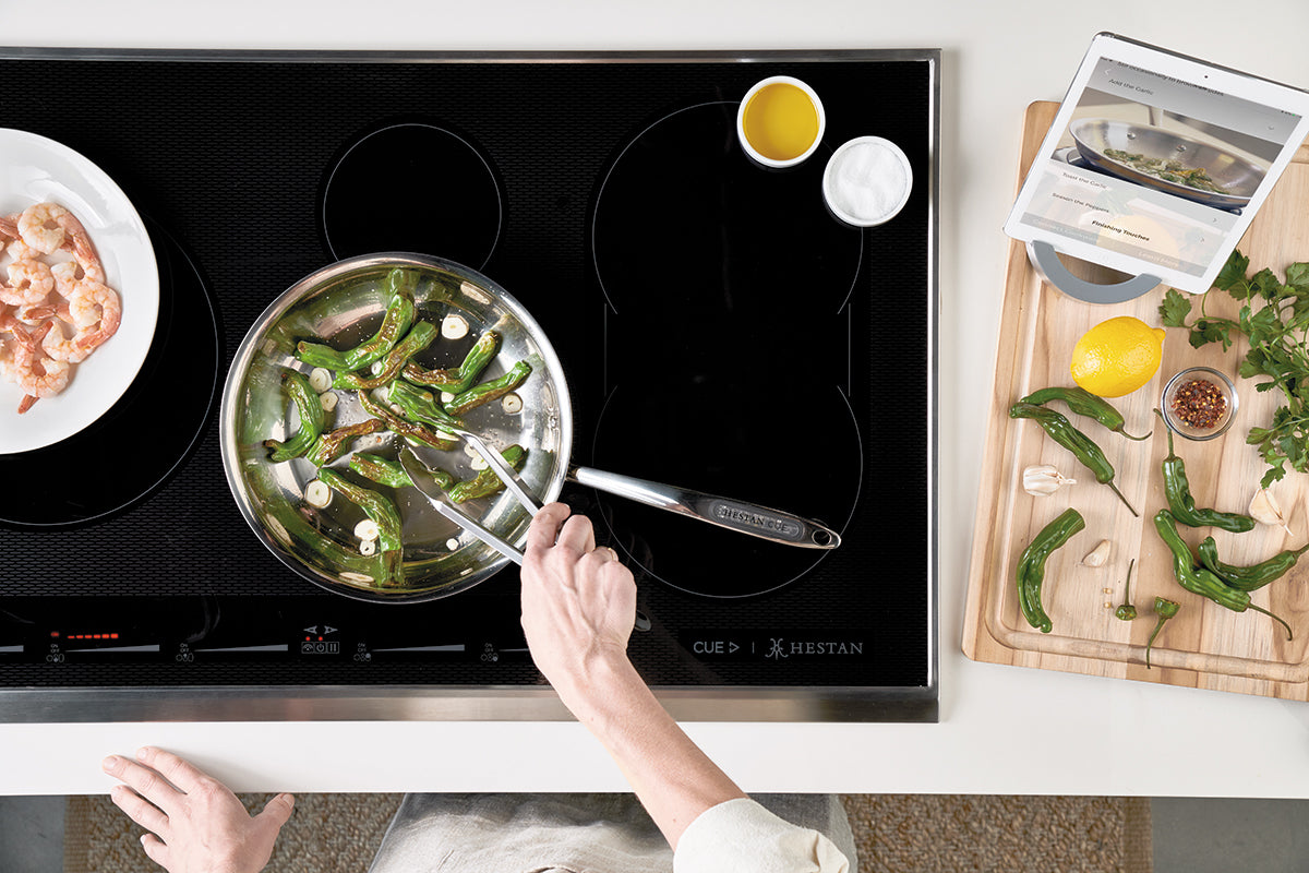 Introducing the Hestan Smart Induction Cooktop