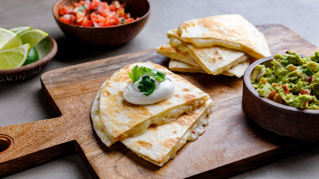 Simple Cheese Quesadilla