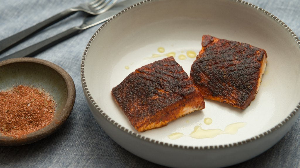How to Cook Blackened Salmon