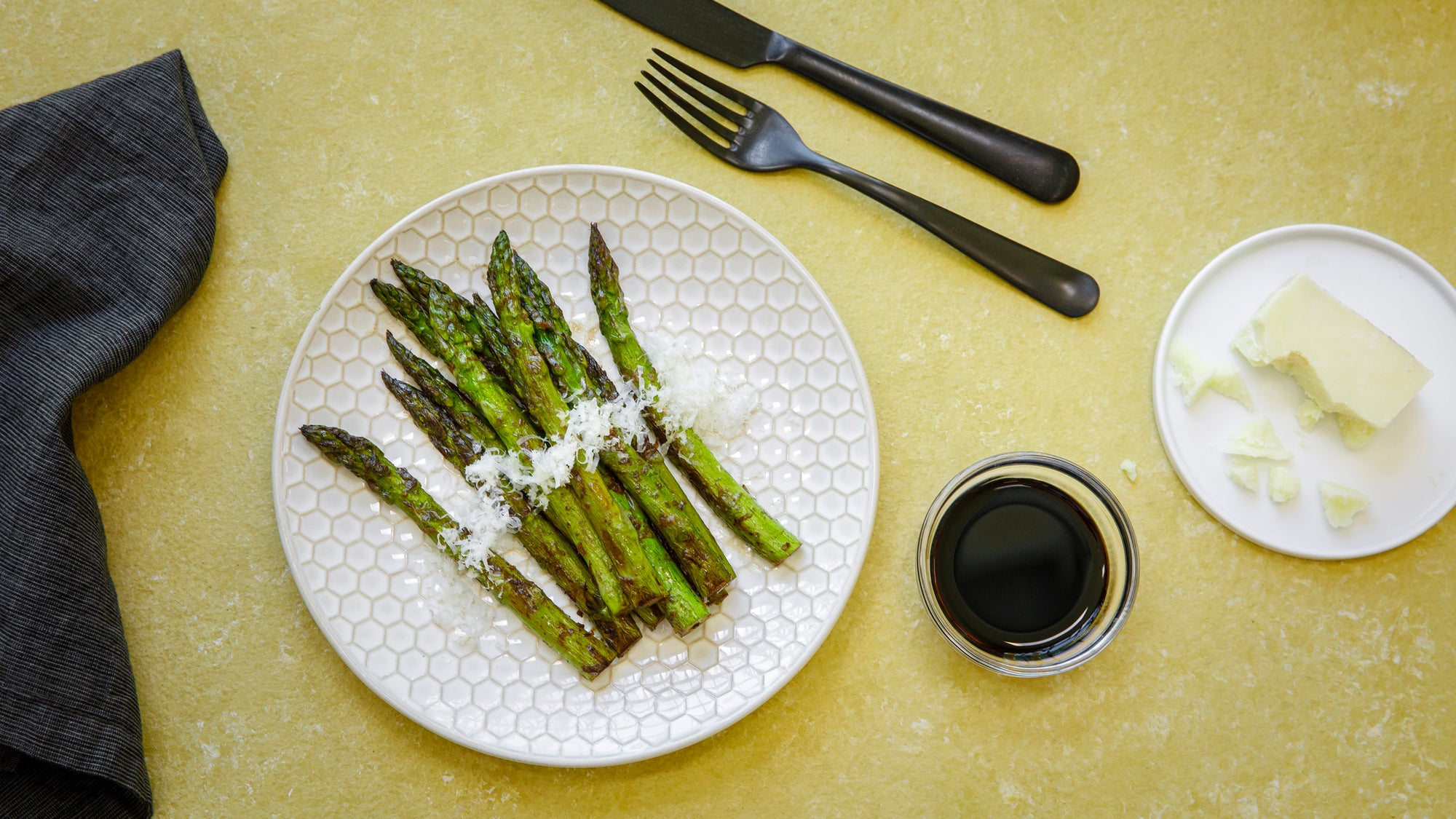 ROTW: Citrus and Balsamic Asparagus