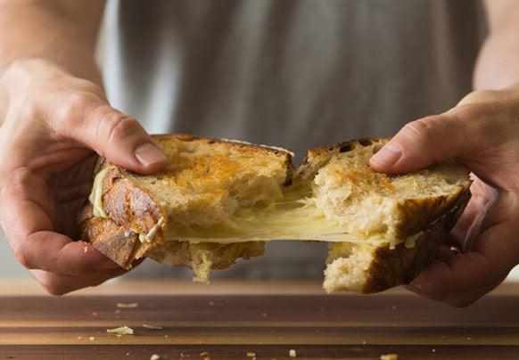 The Purist's Grilled Cheese