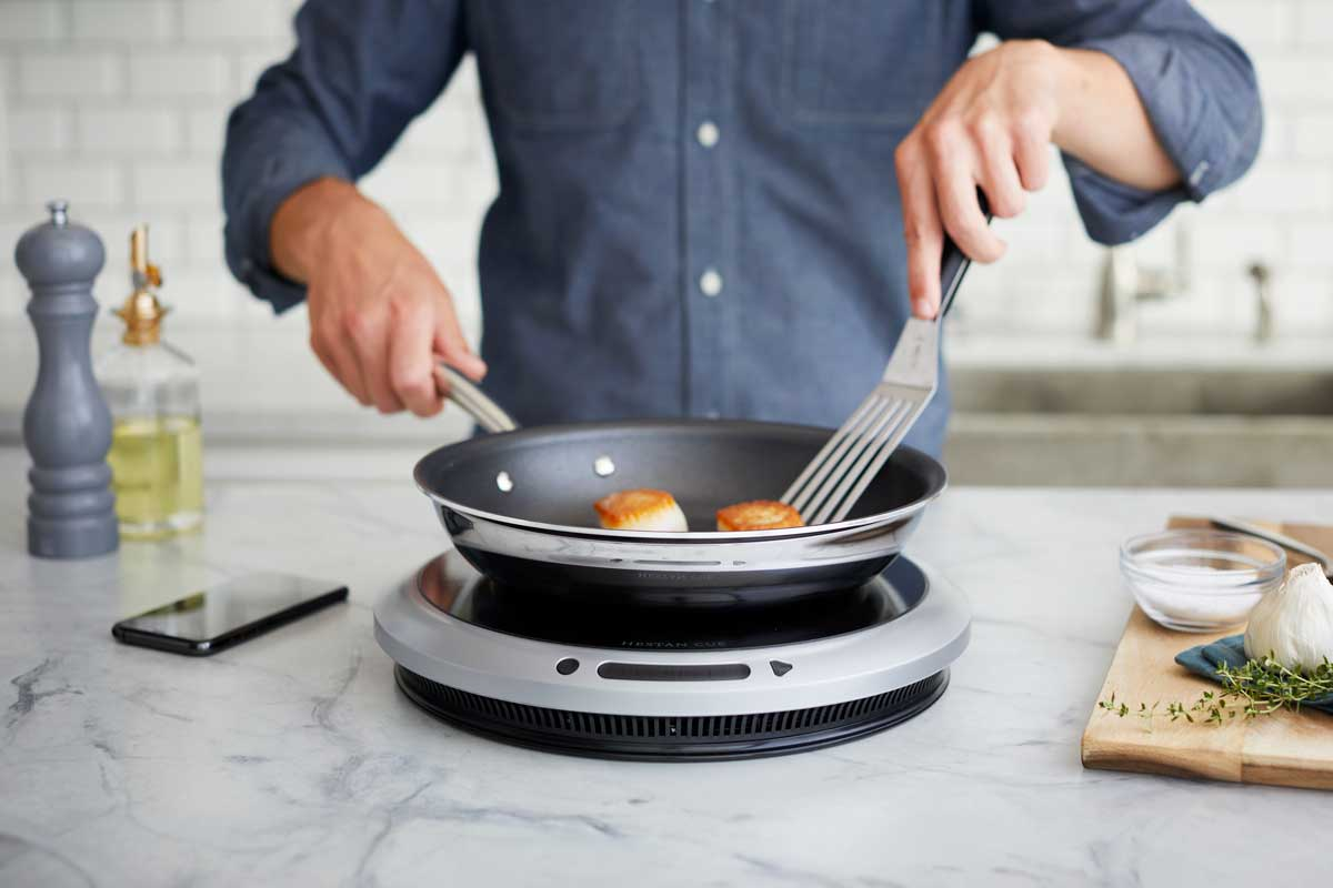 Smart Precision Non-Stick Pan + Induction Cooktop