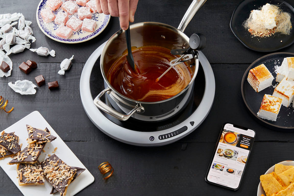 Hestan Cue Smart Probe + Induction Cooktop