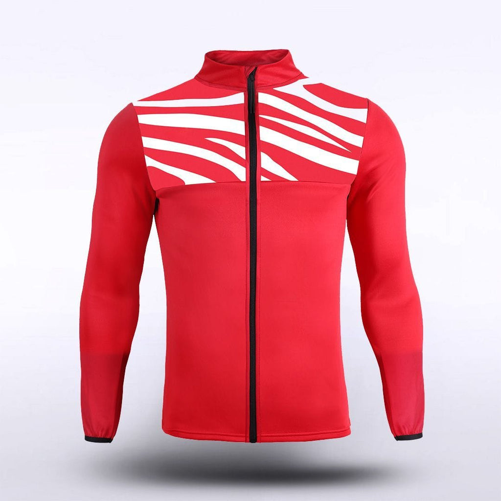 GW - Zebra Sublimated Jacket - Red