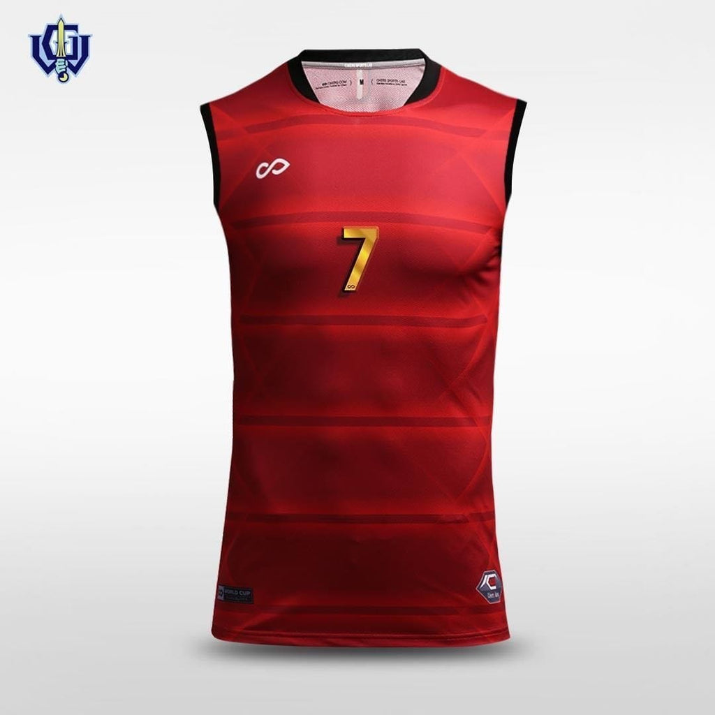 Fortified Parallel - Sublimated Football Vest