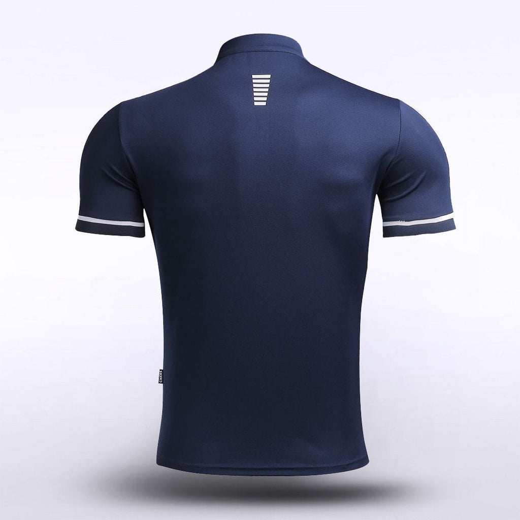 Adult Stand Collar Polo Shirt