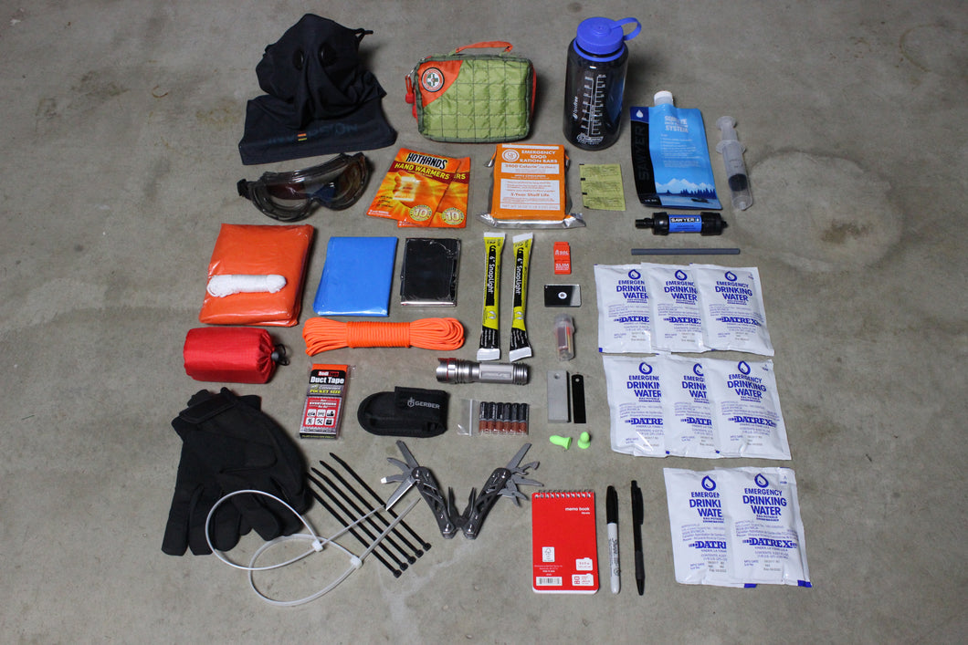 Go Pack Contents | Bug Out Bag | First Aid Kit | Emergency Backpack | Earthquake Kit | Survival Equipment | Gata Pack