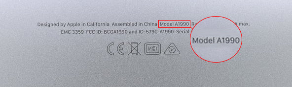 Where to find your model number on a macbook pro, air or tablet