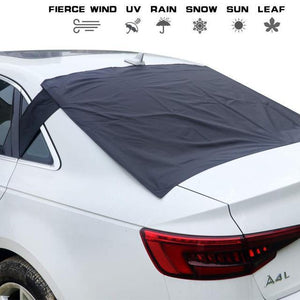 Last day promotion!-20% OFF-Magnetic Full Protection Windshield Cover(Signature+Mirror Covers)