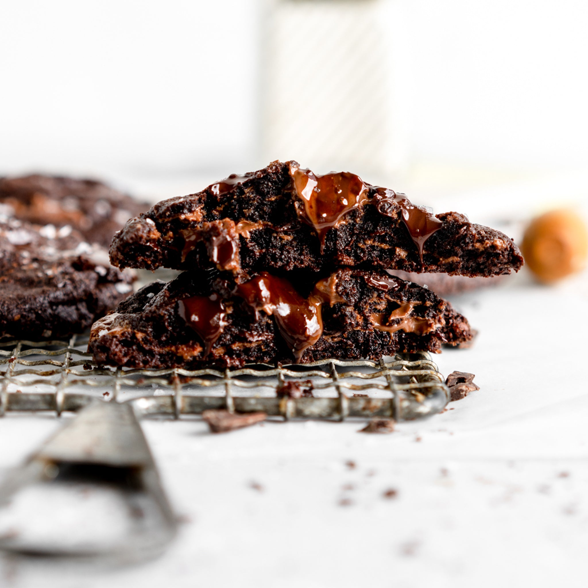 Small Batch Double Chocolate Cookie Recipe