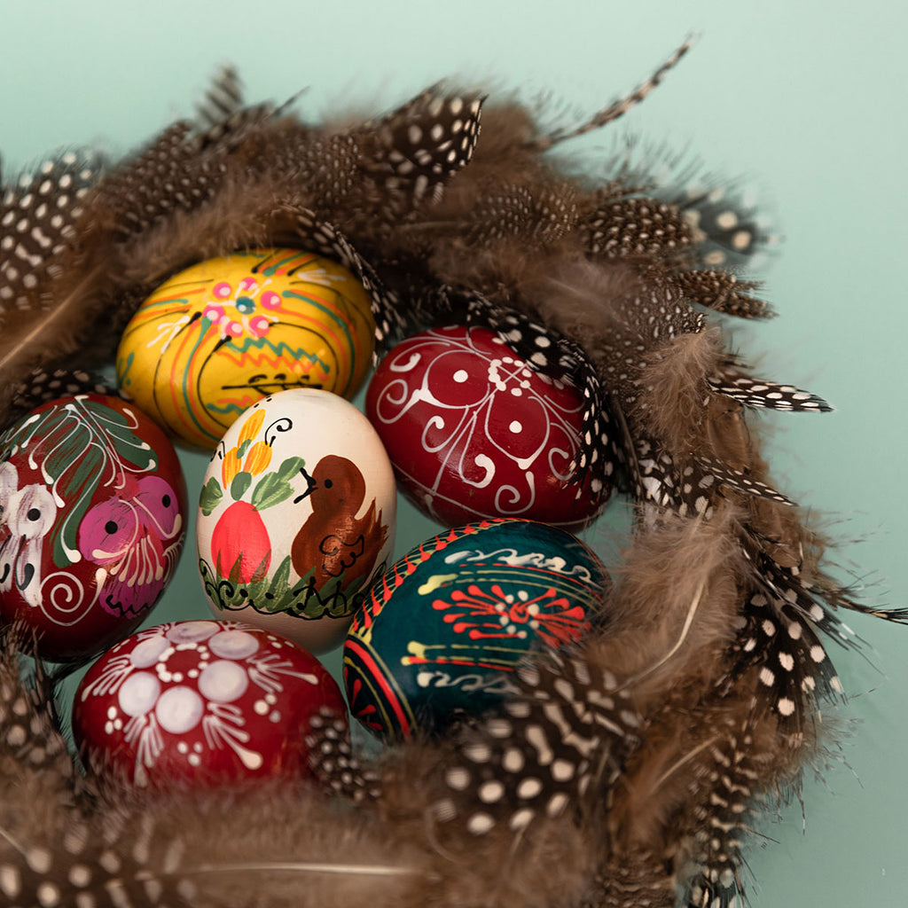 tips to get decorating easter eggs with kids