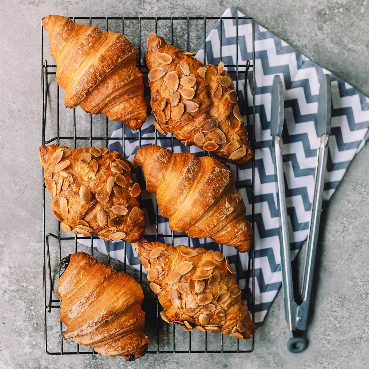 How to proof croissant dough