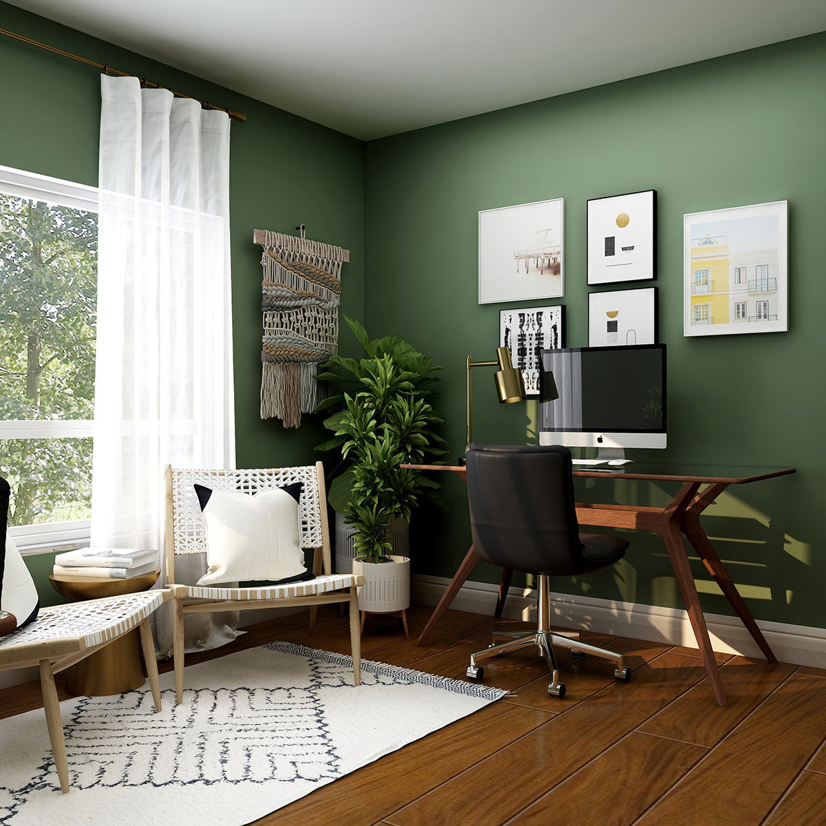 Create a work from home space you love