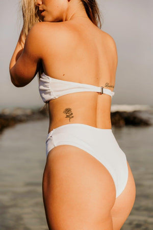 3 Way Bikini Set- White