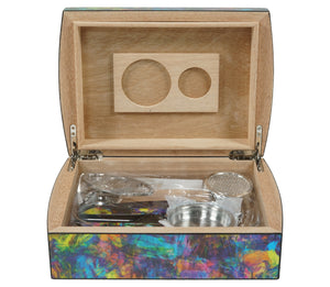 Winston Churchill Travel Humidor Front Open