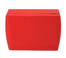 Load image into Gallery viewer, Candy Apple Red Travel Humidor Set Closed View Front