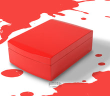 Load image into Gallery viewer, Candy Apple Red Travel Humidor