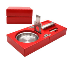 Load image into Gallery viewer, Candy Apple Red Cigar Ashtray