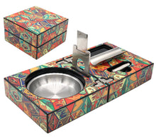 Load image into Gallery viewer, Jungle Love Collage Cigar Ashtray