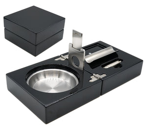 Midnight Black Cigar Ashtray
