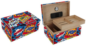 Pop Bang Splat Cigar Humidor 100 Count