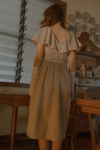 Amihan Dress (in Stripes)