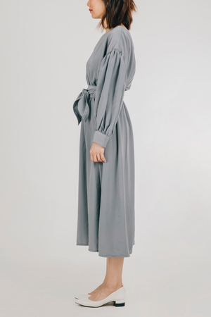 Akap Dress (in Blue Gray)