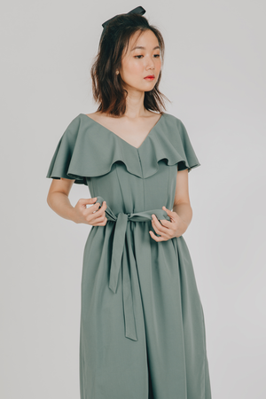 Amihan Dress (in Sage Green)