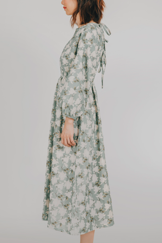 Idlip Dress (in Floral)