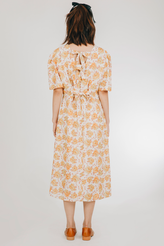 Paraluman Dress (in Yellow Floral)